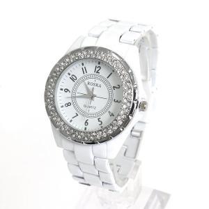 ペアウォッチ 腕時計 レディース メンズ 安い ホワイト アナログ プレゼント lupis 05