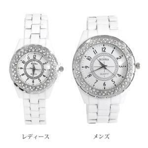 ペアウォッチ 腕時計 レディース メンズ 安い ホワイト アナログ プレゼント lupis 06