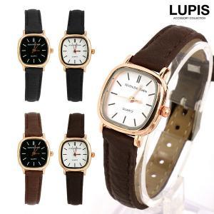 シンプルで程よいサイズ感のスクエア型腕時計。 スッキリとした文字盤と上品なゴールドで女性らしさがぐん...