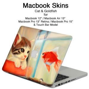 クリアランスSALE 1780円→980円  【商品説明】 MacBook用 スキンシール。  猫が...