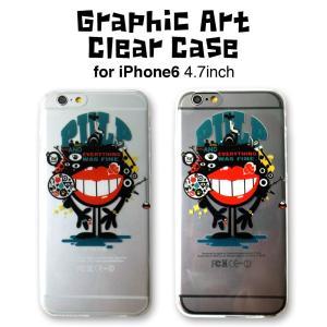 グラフィックイラストがかっこいいiPhone6/6s クリアアートケース。 iPhone6/6s 4...