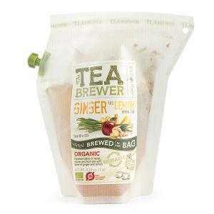 TEA BREWER GINGER&LEMON(ジンジャー&レモン)(オーガニック・有機JAS)【送料無料】【ポイント消化】|luruspot