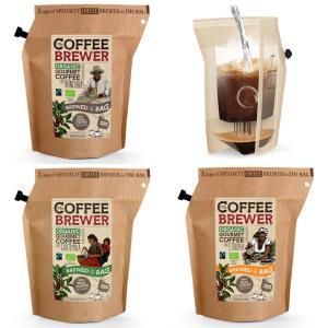 コーヒー ブリューワー(GROWER'S CUP Coffee Brewer)お試しセット(オーガニック・有機JAS)【送料無料】【ポイント消化】|luruspot