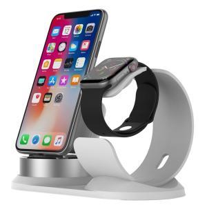 3in1 iPhone iwatch airpods 充電スタンド 同時充電可能 多機種対応|lush-intl