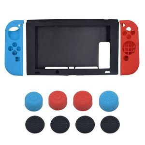 Nintendo Switch ケース +Joy-Con ゲームパッド 保護カバー シリコン素材 カバー スイッチ保護ケース 任天堂 lush-intl