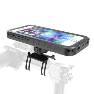 iPhone XR iPhone XS MAX自転車用ホルダー 防水防塵 IP68 ●【IPX8防水...