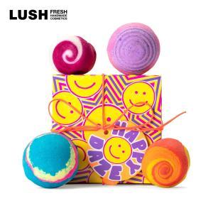 バスボム 詰め合わせ ラッシュ 公式 LUSH ハッピー デイズ プレゼント ラッシュ公式 PayPayモール店