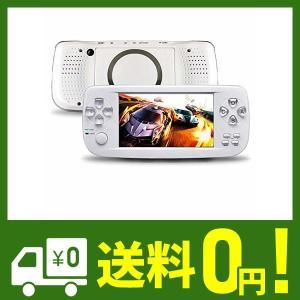 Whatsko ポータブルゲーム機 3000種ゲーム贈 16GB 64ビット 4.3インチ デュアルコアチップ GBA GB CP1 SFC MD用互