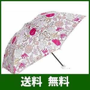 [ジルスチュアート] AURORA(オーロラ) JI-17026-26マリンプリント軽量折りたたみ傘|lusterstore