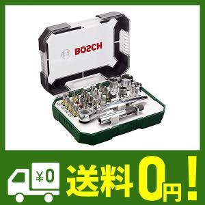 BOSCH (ボッシュ) 2607017322 ラチェット スクリュードライバービット セット 26ピース|lusterstore