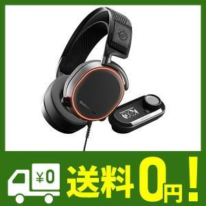 【国内正規品】密閉型 ハイレゾ対応 USB DAC ゲーミングヘッドセット SteelSeries Arctis Pro + Game DAC 614 lusterstore