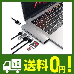 Satechi Type-C アルミニウム Proハブ (シルバー) 2019/2018 MacBo...