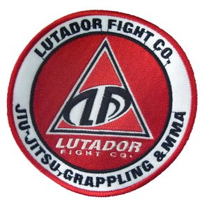LUTADOR FIGHT EMBLEM 柔術 刺繍パッチ  [BJJ PATCH]|lutadorfight