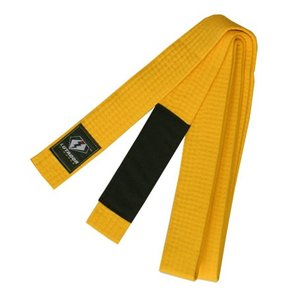 LUTADOR KIMONOS  柔術  KID'S  YELLOW BELT 黄帯 [BJJ BELT]|lutadorfight