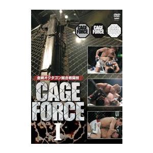 CAGE FORCE 1 金網 オクタゴン [総合格闘技 DVD]|lutadorfight
