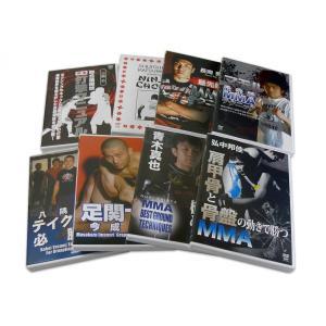 ジャパニーズ MMA ベストセレクト 技術編 極8種 セット DVD8枚 [DVDセット]|lutadorfight|03