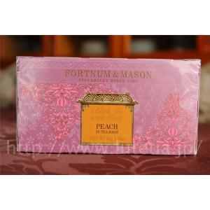 フォートナム&メイソン(フォートナムメイソン)のピーチティーです。  中国茶に乾燥させたピー...