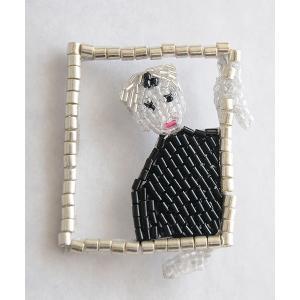 マリアンヌバトル MARIANNE BATLLE ブローチ Andy Warhol CADRE|luvri