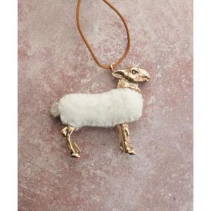 RENARD BIJOUX (レナードビジュー) SHEEP ネックレス WHITE|luvri