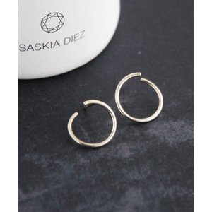 SASKIA DIEZ サスキア ディッツ SV925 WIRE EARRINGS SPIRAL|luvri