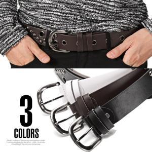 お兄系 ベルト メンズ スタッズ/スタッズ&アイレットベルト/お兄系ベルト メンズベルト スタッズベルト ロック系 ROCK パンク メンナク メンスパ V系 合成皮革|lux-style