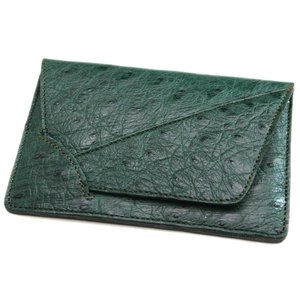 オーストリッチ本革 カードケース/名刺入れ キプロス|luxcel-shop
