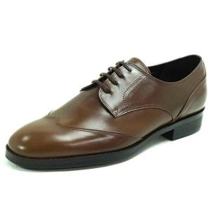カーフ ハンドメイドウイングチップ 紳士靴 LC9001 ワイズも選べる受注生産 日本製・自社内製造|luxcel-shop