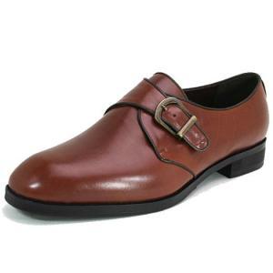 ワイズも選べる受注生産 LC9007 カーフ モンクストラップ紳士靴 日本製・自社内製造|luxcel-shop