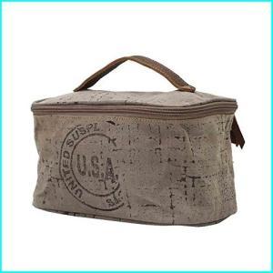 Myra Bag USA Stamped Shaving Kit Leather & Upcycle...