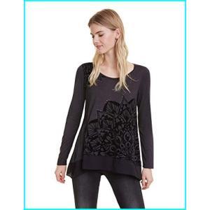 Desigual Women's T-Shirt Sullivan, Gris Vigore Osc...