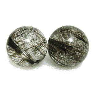 天然石 プラチナルチルクォーツAAA  13.0ミリ 丸玉ビーズ 1粒/高品質|luz