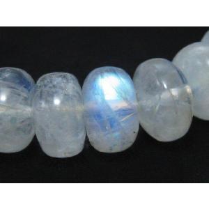 天然石ビーズ レインボームーンストーンボタンAA 10×7ミリ 1粒売り/ばら売り|luz