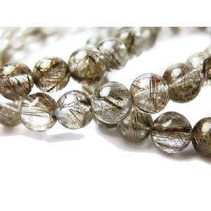 天然石 シルバールチルクォーツAAA 6.0ミリ 丸玉ビーズ 1粒 |luz