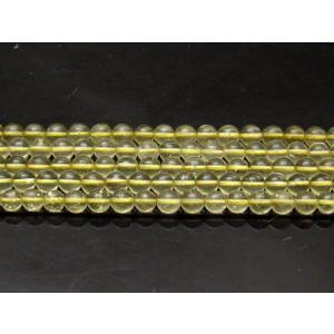 隕石ビーズ リビアングラス AAA  6.0mm 1粒|luz