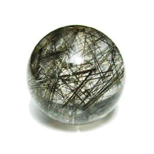 天然石 プラチナルチルクォーツAAAAA  16.0ミリ 丸玉ビーズ 1粒/高品質|luz