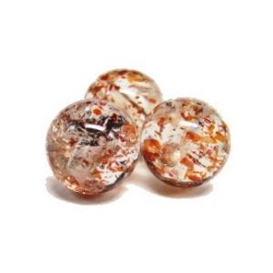 天然石ビーズ サンストーンAA 10ミリ玉/1粒|luz