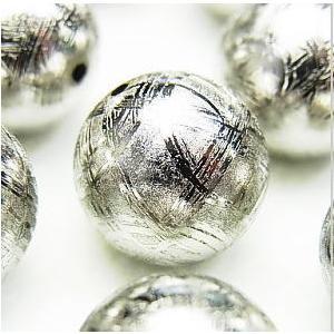 隕石ビーズ  ギベオン  12.0mm 丸玉 1粒売り/バラ売り|luz