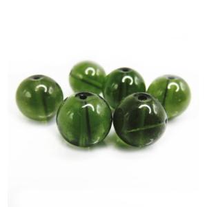 隕石ビーズ モルダバイト 9.0ミリ玉 1粒売り/バラ売り  高品質/鑑定済み |luz