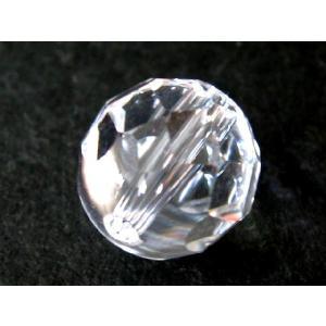 高品質天然ビーズ 水晶32面カットAAA 10.0ミリ玉 1粒  【サービス品】|luz