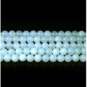 天然石ビーズ グリーンオパールAAA 6.0mm玉 1粒売|luz