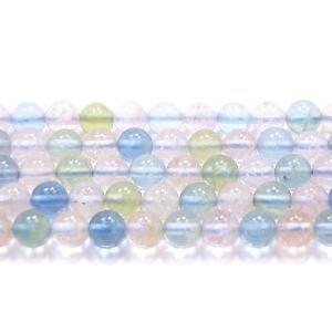 高品質半連売ビーズ  ベリルAAA 6.0mm クリアータイプ  32粒売り/連 【送料無料】|luz