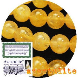 おすすめ商品! ヒマラヤ産 ゴールドアゼツライト AAA ラウン 8.0mm 1粒|luz