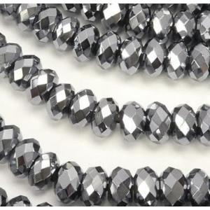 高純度テラヘルツ鉱石ビーズ ボタンカット6×6×3    1粒売り|luz