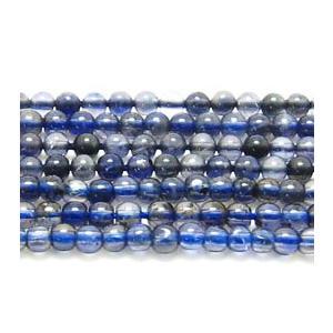 ビーズ 天然石 アイオライトAA ラウンド   4.0mmミリ玉 50粒/連|luz
