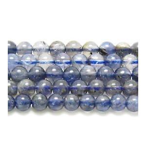 ビーズ 天然石 アイオライトAA ラウンド    6.0mmミリ玉  1粒|luz