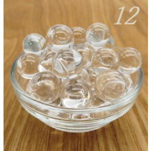 特価中!最高級天然  水晶丸玉AAA  12mm玉 1個  【穴無】|luz