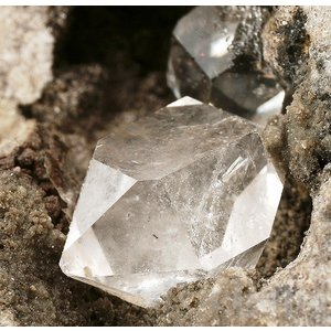 ハーキマーダイヤモンド 水晶 両剣水晶/Double Terminated  20〜40mm  1個|luz