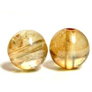 天然石ビーズ ゴールデンオーラ 8mm玉 luz