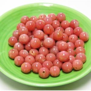 限定品ビーズ ピンクオパール 濃い色目 6.0ミリ玉 1粒売り|luz