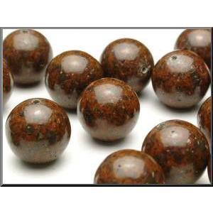 コンドライト隕石(NWA869)    ビーズ 6.0mm玉 丸玉/1粒売り|luz